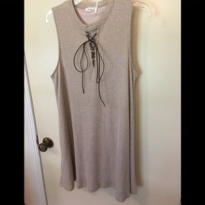 Long tunic top, great for leggings and jeans!